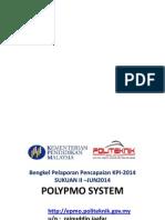 Bengkel Pelaporan KPI JUN2014