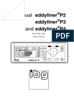 Eddyliner Px User Manual