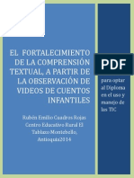 El Fortalecimiento de La Comprensión Textual
