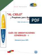 Orientaciones Generales 1 Camp - Ja Mps 2014