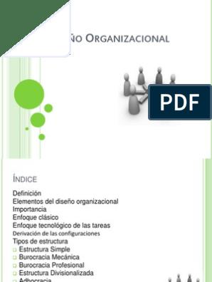 Diseño Organizacional Toma De Decisiones Burocracia