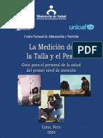 La Medicion de la Talla y el Peso.pdf