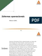 1 - Introdução a Sistemas Operacionais