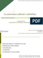 Estructura v. Estructura Cultural