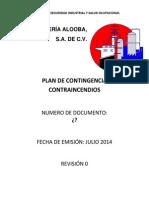 Plan de Contingencia Contraincendios