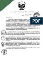 Establecen El Coeficiente de Rendimiento Para La Congona RJ 014 2005 INRENA