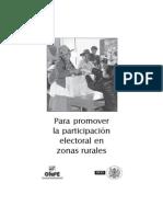 ONPE - Promover Participación Electoral en Zonas Rurales