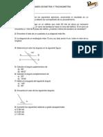 Examen GLOBAL Trigonometria