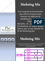 Presentacion de Marketing Mix