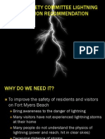 Public Safety Committee Lightning Detection Recommendation