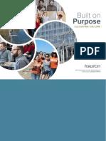 2013 Forest City CSR Executive Summary Report