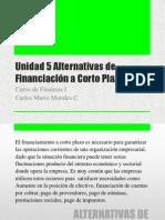 Curso de Finanzas i u5 Alternativas de Financiacion a Corto Plazo