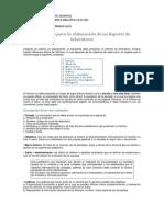 Instructivo Para La Elaboración de Un Reporte de Laboratorio