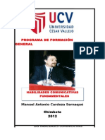 Habilidades Comunicativas Fundamentales 2012 I