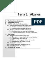 Tema 6 Alcanos