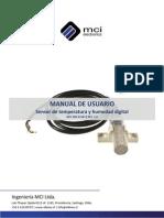 Manual Sensor Humedad y Temperatura