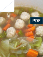 Chicken Ball and Carrot Soup Recipe