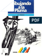 Dibujando a La Pluma J L Velasco