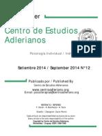 Newsletter Nº 12 Centro de Estudios Adlerianos