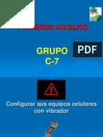 PRIMEROS AUXILIOS    EXAMEN
