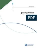 DP General Regulations 2014-2015