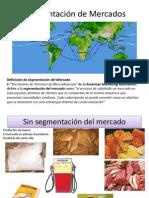 Mercadotecnia II_Segmentación de Mercados