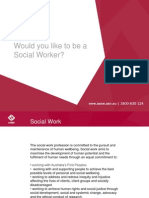 Powerpoint - What is a Social Worker