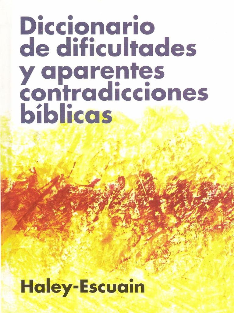 John W. Haley y Santiago Escuain - Diccionario de Dificultades y ...