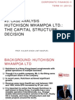 Case Analysis- Hutchison Whampoa