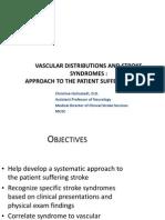 Vascular Distribution Holmstedt