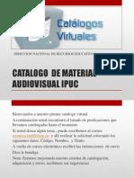 Catalogo de Material Audiovisual Ipuc_v1