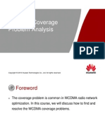 OWO300040 WCDMA Coverage Problem Analysis ISSUE1.00