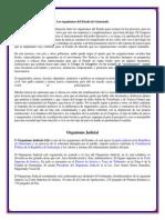Los Organismos Del Estado Guatemala