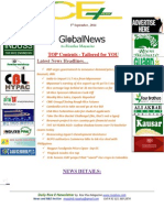 5th September,2014 Daily Global Rice E-Newsletter by Riceplus Magazine