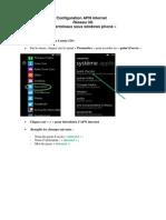 Apn Windows Phone