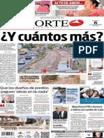 Periódico Norte edición del día 6 de septiembre de 2014