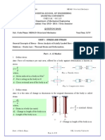 QB ME5413 Structural Mechanics Jan May.2014