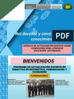 i Taller Presencial Huancayo Junín Secundaria