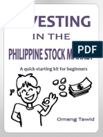 Investing in the Philippines Stock Market for Beginners (Brief Version)