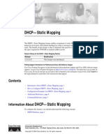 DHCP Static