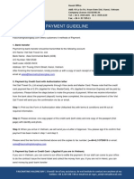 Payment Guideline