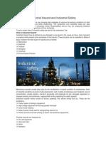 Industrial Hazard and Industrial Safety