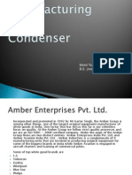 Manufacturing - Condenser