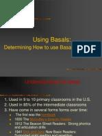 Using Basals