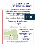 A4 Meeting Poster 4th October 2014