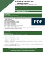 60849_2014 CALENDARIO ACADEMICO MD 2° SEM 20140818 - v30-12-13