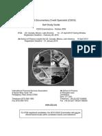 Cdcs Self Study Guide 2010