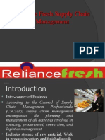 77784338 Reliance Fresh Supply Chain