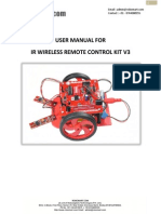 User Manual IR Wireless Remote Control Kit V3