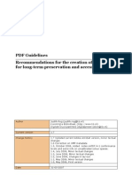 PDF Guidelines
